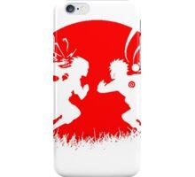 Naruto and Sasuke Fight ! iPhone Case/Skin