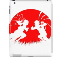 Naruto and Sasuke Fight ! iPad Case/Skin