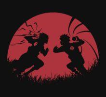 Naruto and Sasuke Fight ! by artemys
