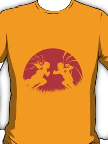 Naruto and Sasuke Fight ! T-Shirt