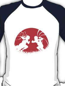 Naruto and Sasuke Fight ! T-Shirt