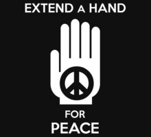 Extend a Hand for Peace by Samuel Sheats