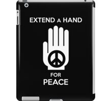 Extend a Hand for Peace iPad Case/Skin