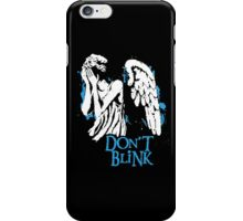 Doctor Who Don't Blink iPhone Case/Skin