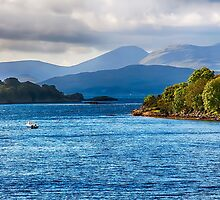 Looking to the Isle of Mull 3 by Chris Thaxter