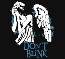 Doctor Who Don't Blink Kids Tee