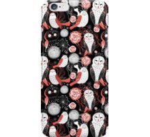 graphic pattern owl iPhone Case/Skin