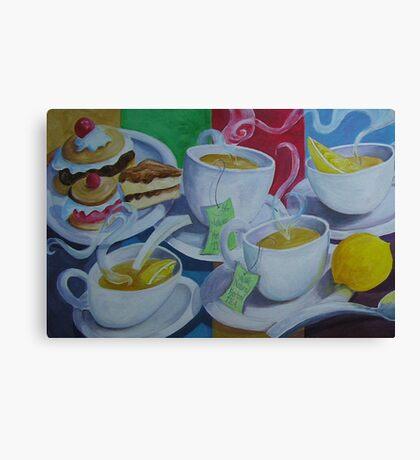 Tea Time Detail Canvas Print