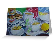 Tea Time Detail Greeting Card