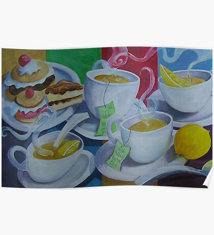 Tea Time Detail Poster