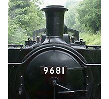 9681 Pannier Tank Engine Photographic Print