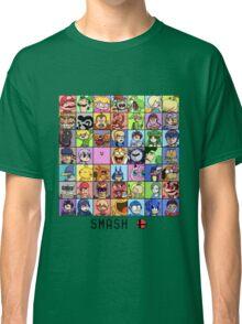 Super Smash Bros. 4 Roster Classic T-Shirt