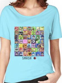 Super Smash Bros. 4 Roster Women's Relaxed Fit T-Shirt