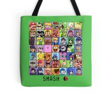 Super Smash Bros. 4 Roster Tote Bag
