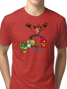 Apple challenge Tri-blend T-Shirt