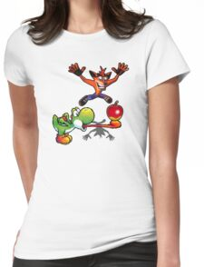 Apple challenge Womens Fitted T-Shirt