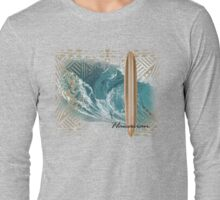 big wave Long Sleeve T-Shirt