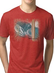 big wave Tri-blend T-Shirt