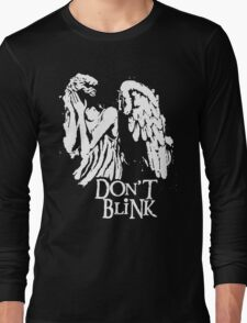 Doctor Who Don't Blink Long Sleeve T-Shirt