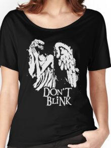 Doctor Who Don't Blink Women's Relaxed Fit T-Shirt