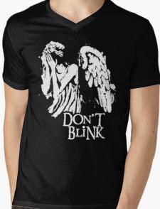 Doctor Who Don't Blink Mens V-Neck T-Shirt