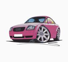 Audi TT Pink by Richard Yeomans