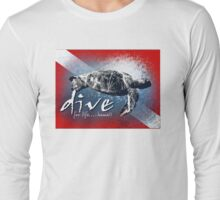 dive for life Long Sleeve T-Shirt