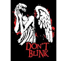 Doctor Who Don't Blink Photographic Print