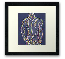 gay art  Framed Print