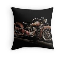 1939 Indian Chief Throw Pillow