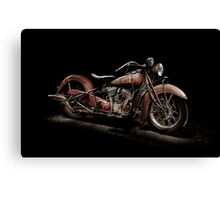 1939 Indian Chief Canvas Print