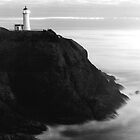 North Head Lighthouse by Christopher  Boswell