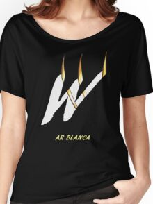 AR Blanca Font Iconic Charactography - W Women's Relaxed Fit T-Shirt