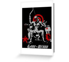 Game of Ultron Greeting Card