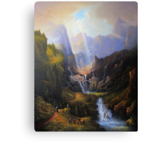 Rivendell,The Last Homely House. Canvas Print