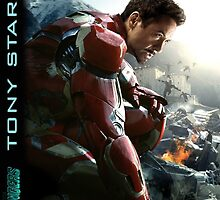 TONY STARK - Avengers - IronMan by RikT