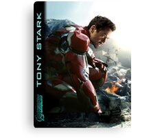 TONY STARK - Avengers - IronMan Canvas Print