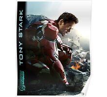 TONY STARK - Avengers - IronMan Poster