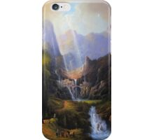 Rivendell,The Last Homely House. iPhone Case/Skin