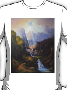 Rivendell,The Last Homely House. T-Shirt