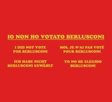 non ho votato berlusconi by maxsabini