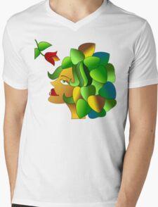 The Florist Mens V-Neck T-Shirt
