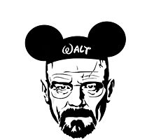 Walter Mouse | Breaking Bad Parody Photographic Print