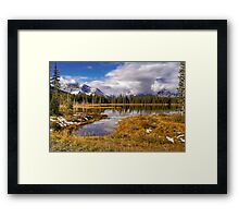 Vermilion Lake and Forest Framed Print