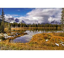 Vermilion Lake and Forest Photographic Print
