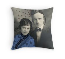 Wedding with Pollen Throw Pillow