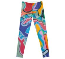 Colorful Swirls Leggings