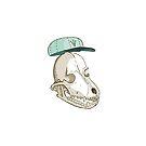 Hometown Dog Skull by skulldaggery