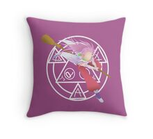 Freedom of Flying ~ Arche Throw Pillow