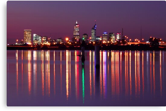 Perth City Reflections  by EOS20